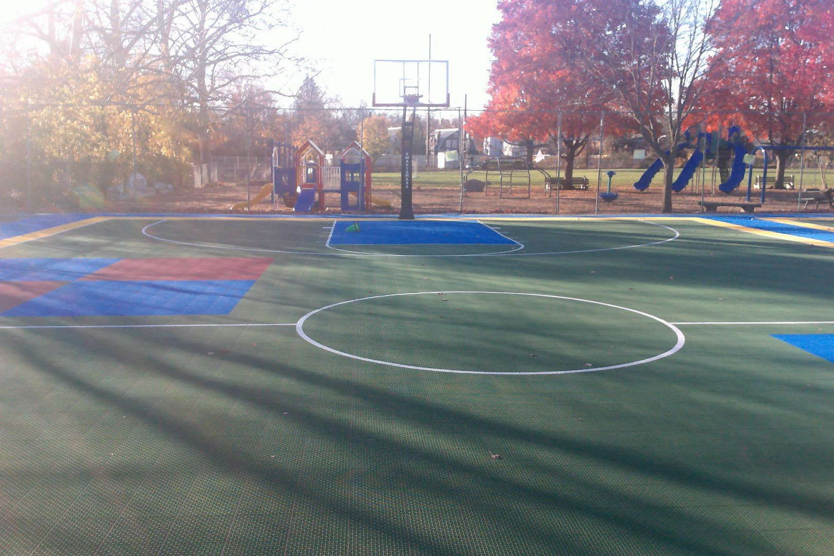 Outdoor Courts!