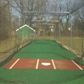 Henderson Batting Cage is Open For Business.  (Field to open Apr 1)