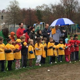 T-Ball Opening Day