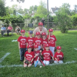 T-Ball Teams & Opening Day